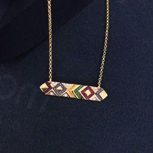NWT APM Monaco Multicolor adjustable necklace